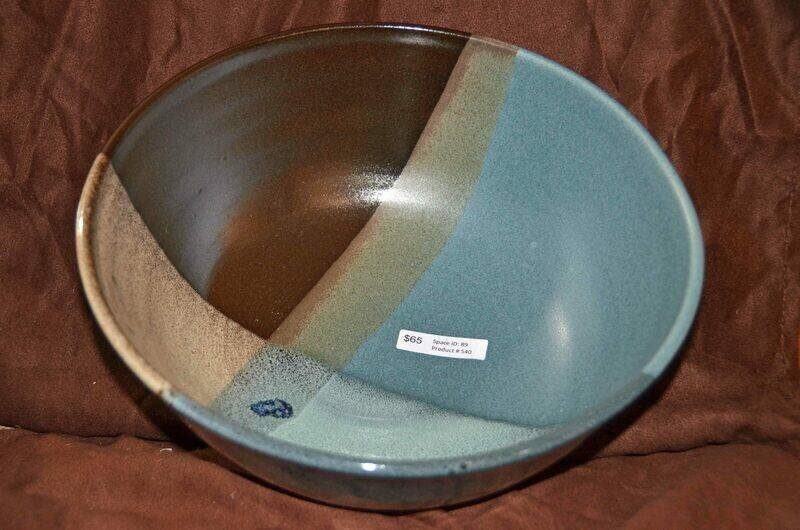 (SOLD)Plaid Bowl