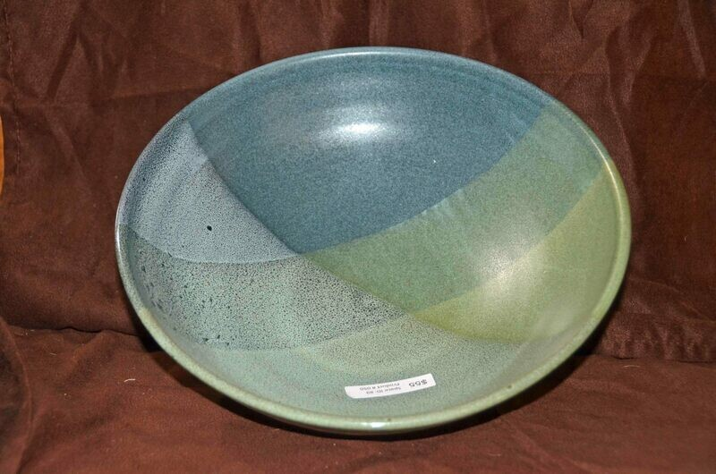 (SOLD)Diamond Pattern Low Bowl