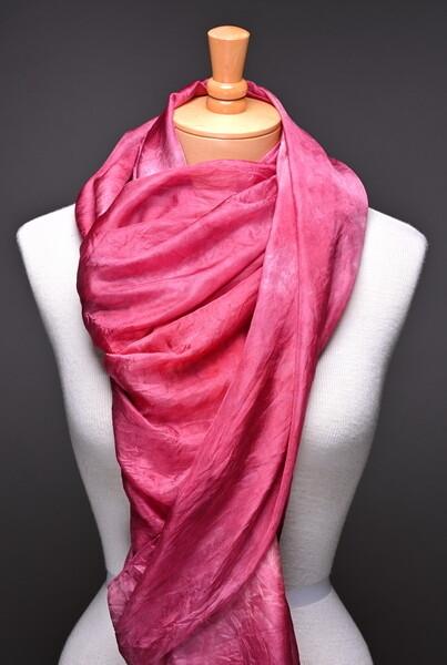 Silk Habotai veil