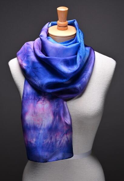 (SOLD) Silk Habotasi scarf