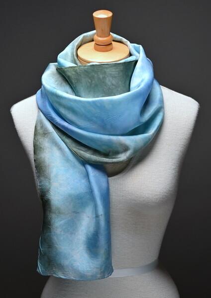 Silk Habotasi scarf