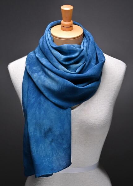 Silk crepe de chine scarf