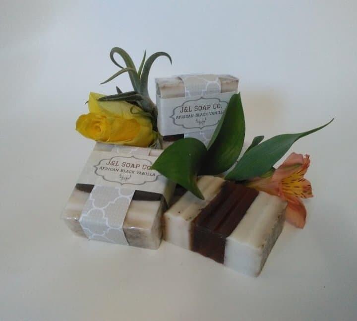 African Black Vanilla Soap