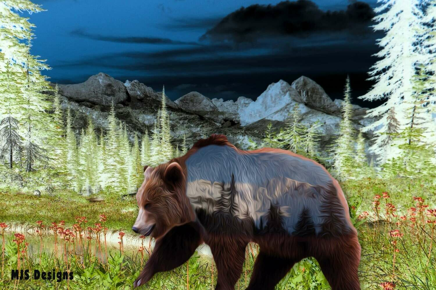 Mountain Grizzly