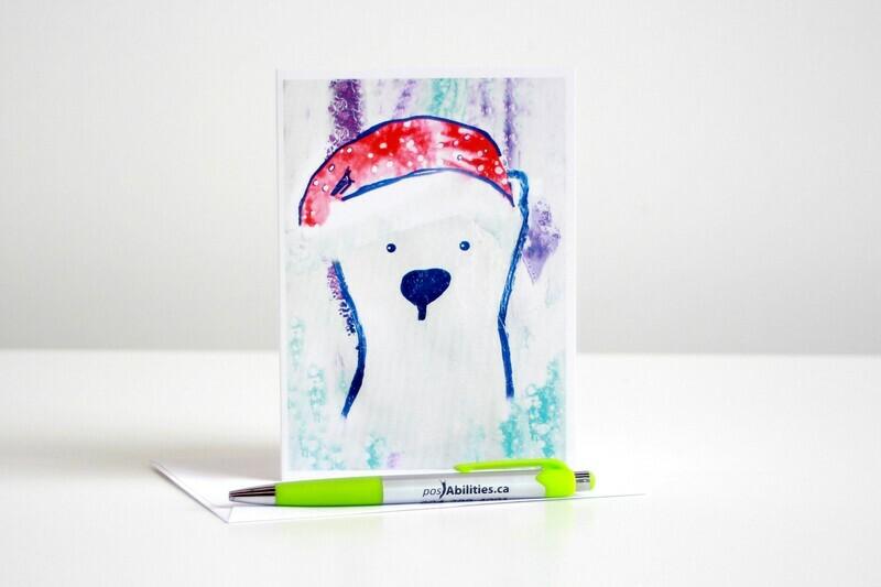 Bear Cap'd Christmas