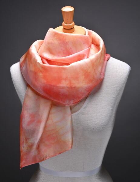 hand dyed silk