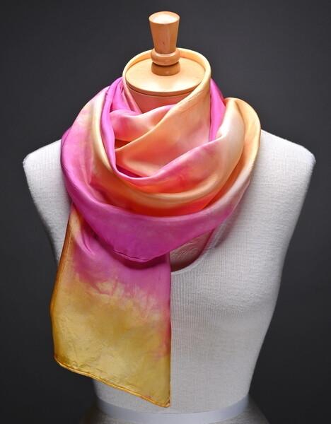 (SOLD)Silk Scarf