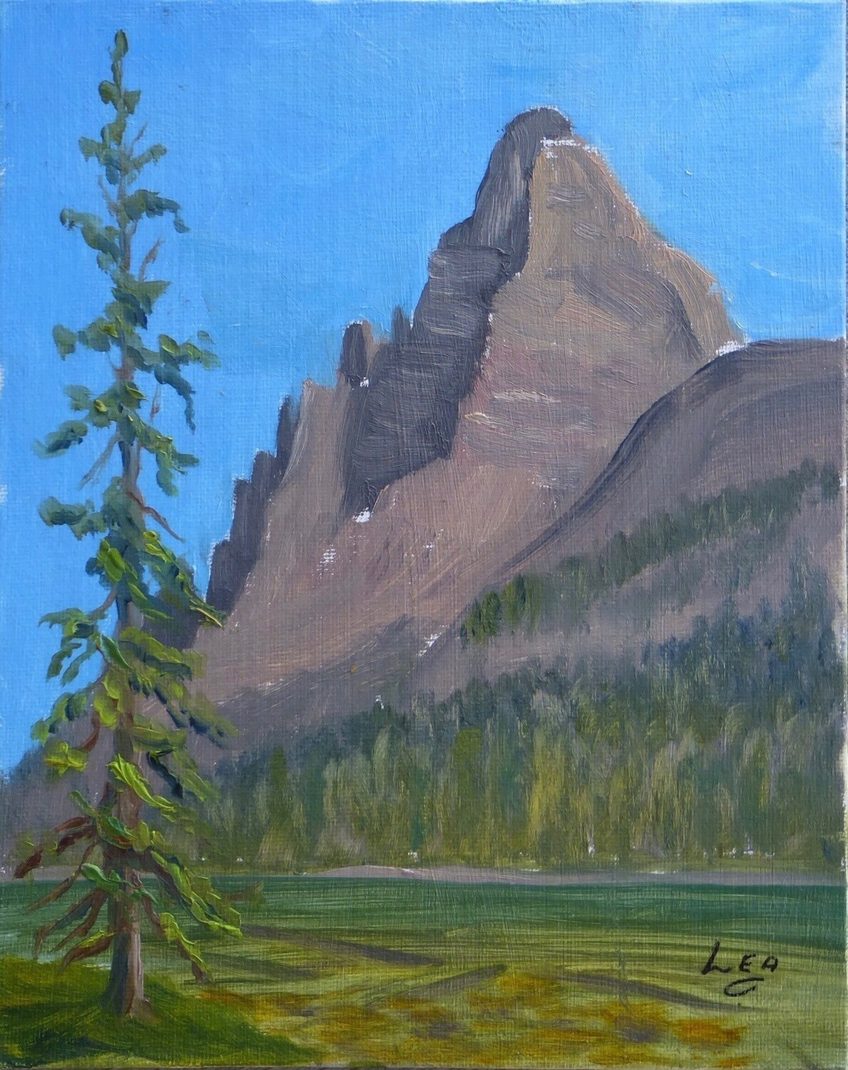 Wiwaxy Peak at Lake O'Hara