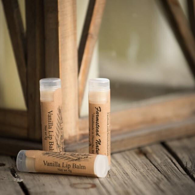 Natural  Vanilla Lipbalm