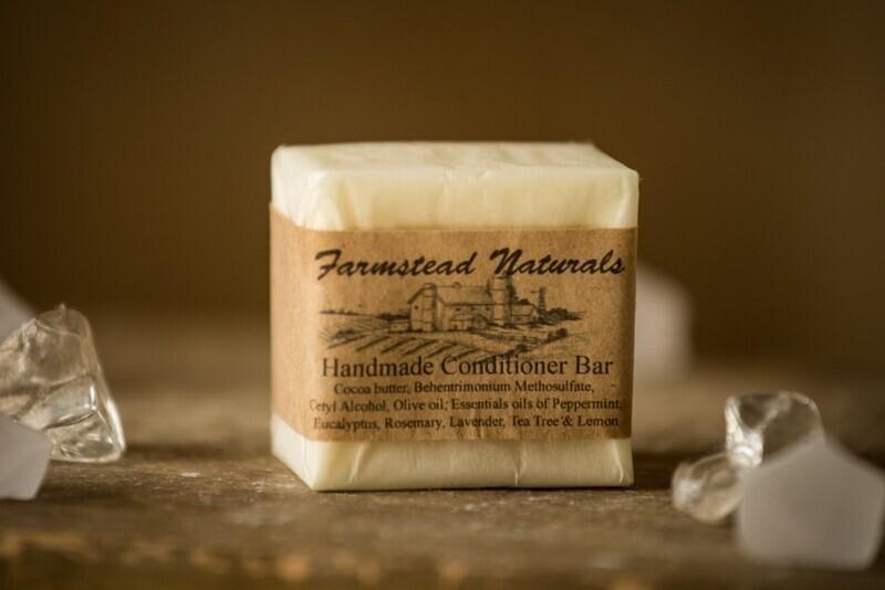 Handmade Hair Conditioner Bar
