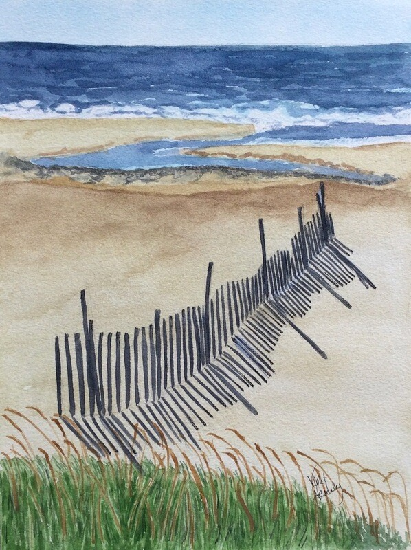 (UNAVAILABLE)Beach Fence