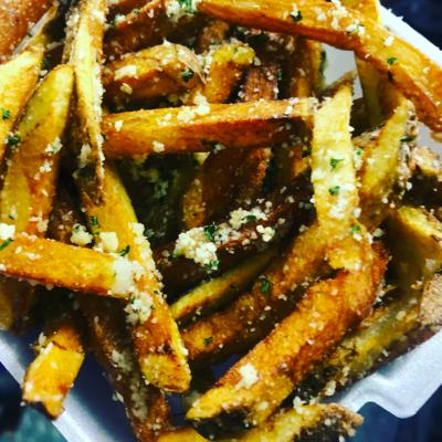 DIY Fry - Garlic Parm