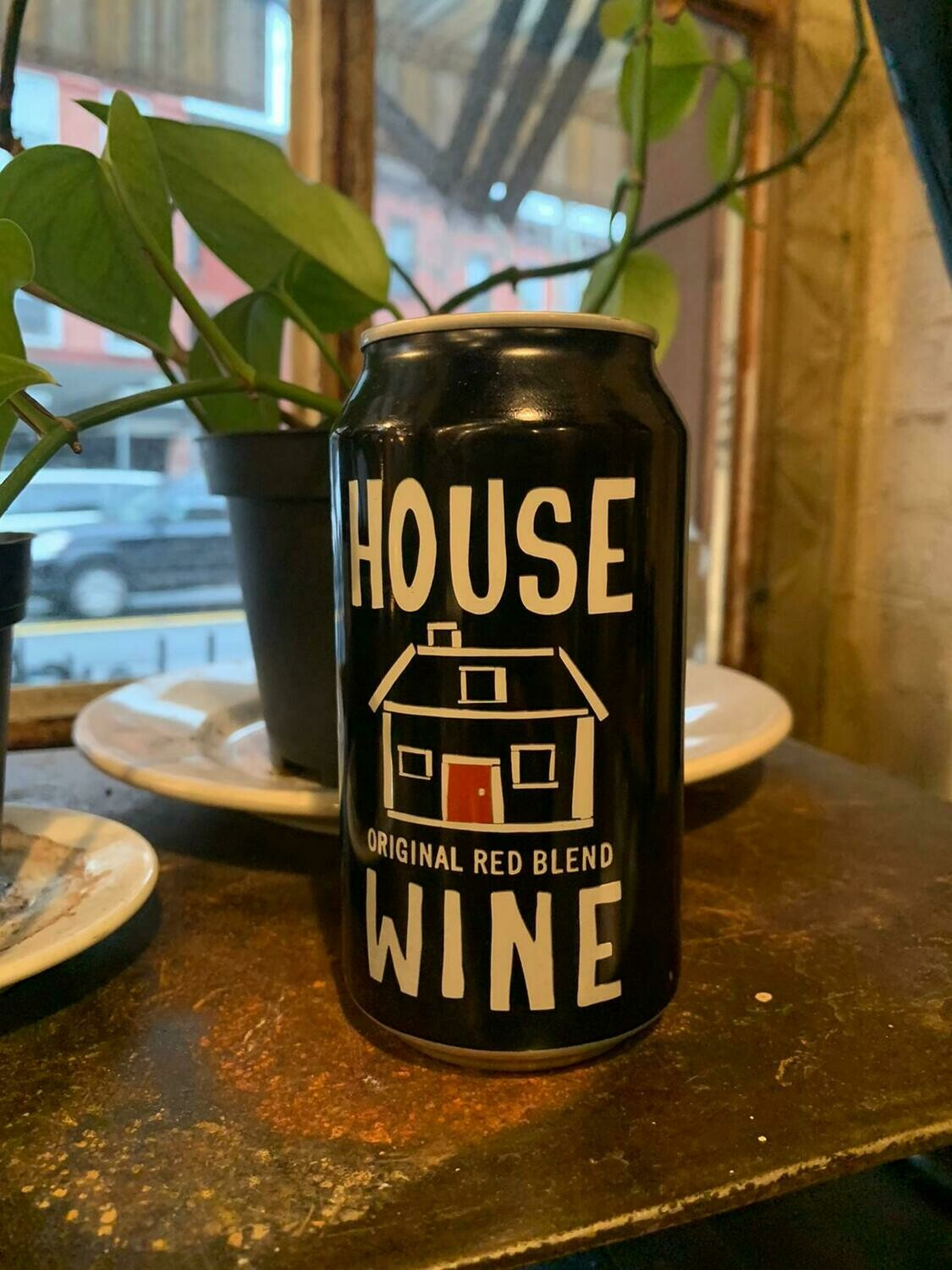 House Wine Red Blend Can