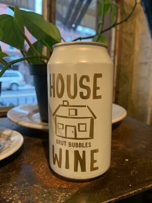 House Wine Sparkling White Can