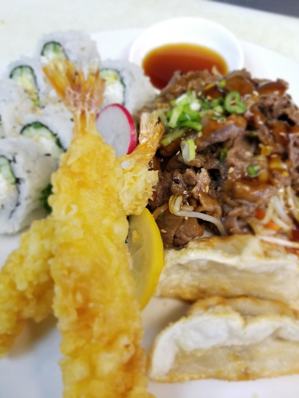 Beef Teriyaki Combo B