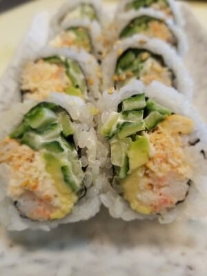 Real Crab California Roll