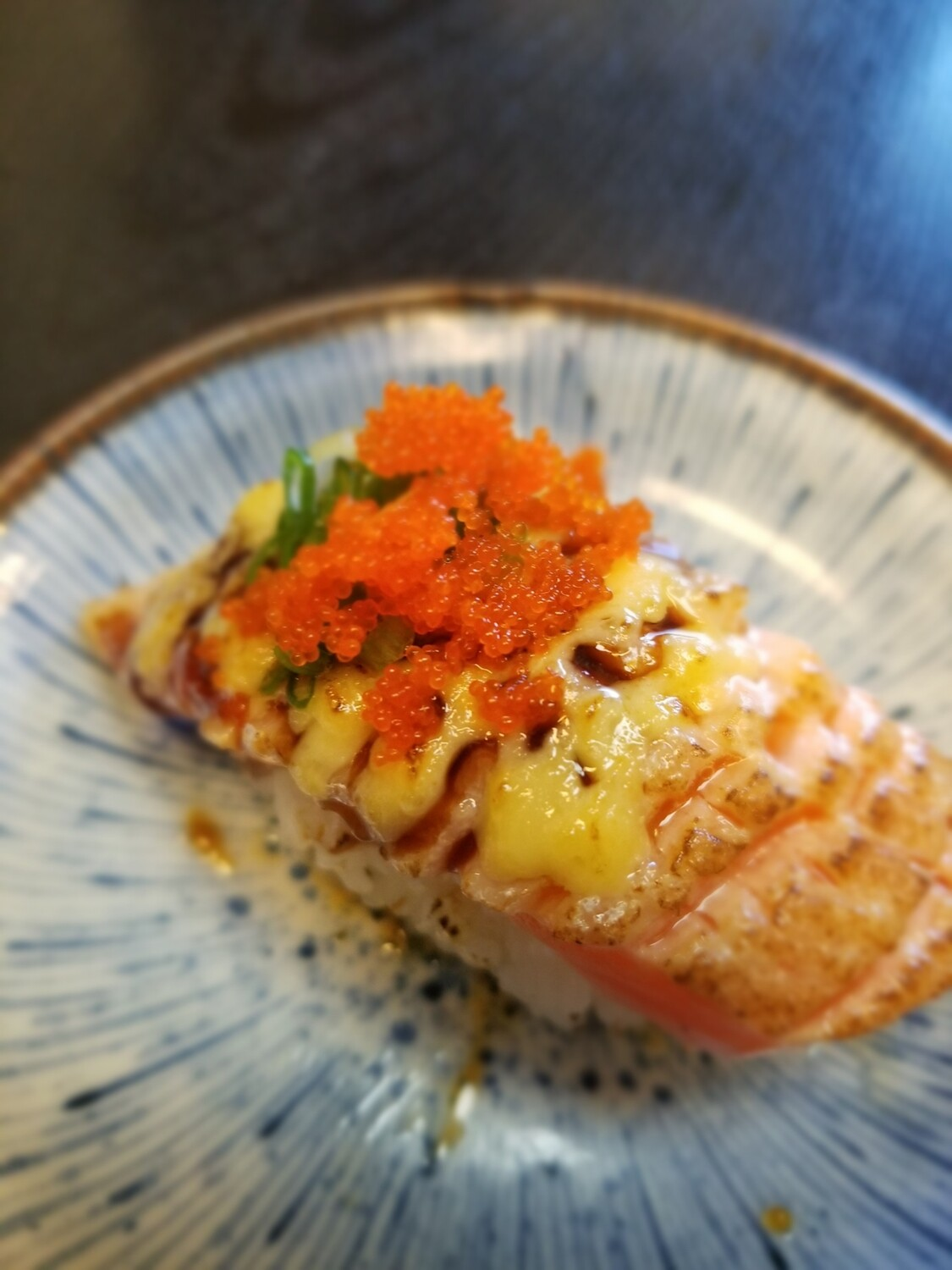 Salmon Belly Aburi
