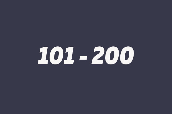 101 - 200