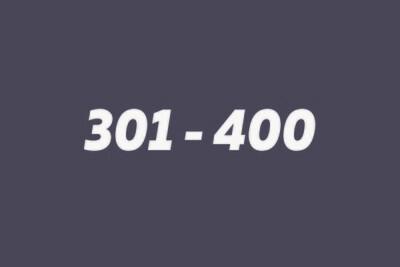 301 - 400