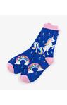 Rainbow Unicorns Women's Crew Socks
