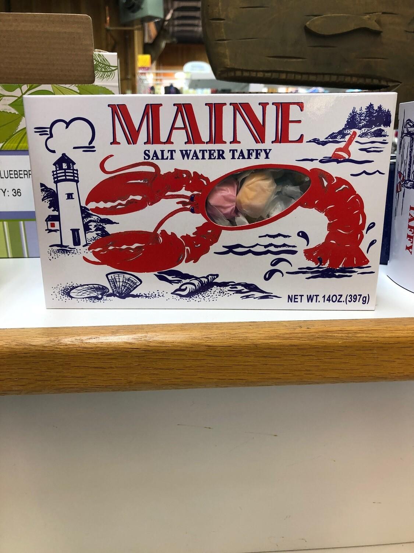 Vintage Lobster Box Taffy