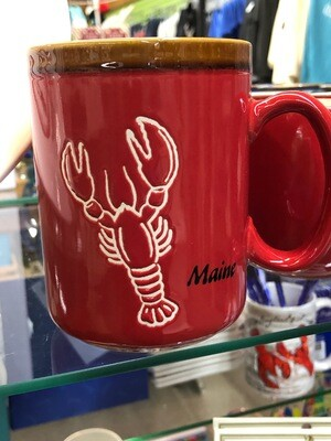 CS Glazed Mug Lobster