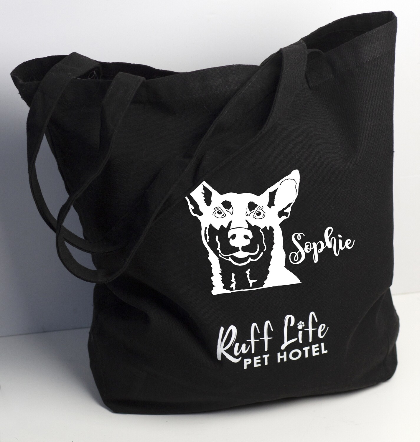 Personalized with Pet's Face - Canvas Bag