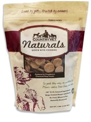 Country Vet® Naturals Quick Bite Cookies