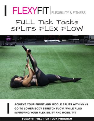 Flexy Legs & Splits FULL Program