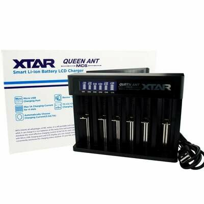 Xtar Queen 6 Bay Battery Charger