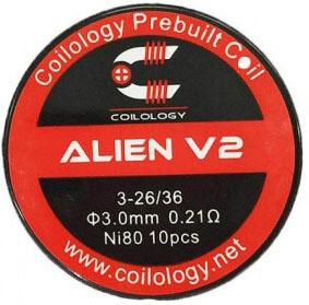 Coilology Alien V2 Pre Built Coils