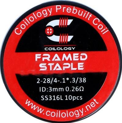 Coilology Framed Staple Pre Built Coils