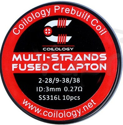 Coilology Multi-Strand Fused Clapton Pre Built Coils