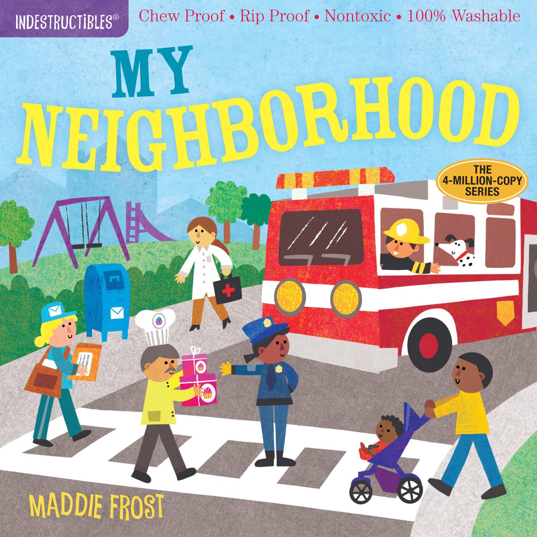 "Indestructibles ""My Neighborhood"" Book"