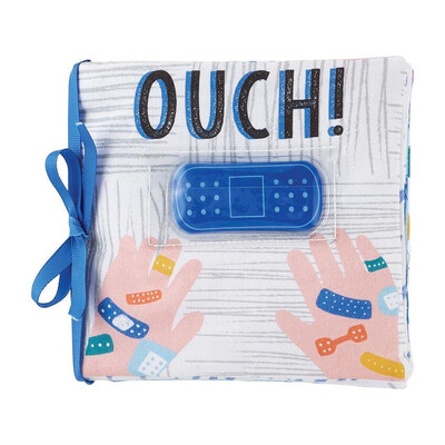 Mudpie Blue Ouch Pouch Book