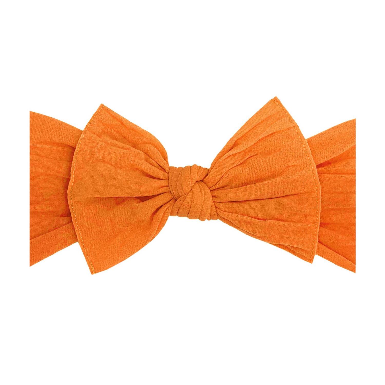 Baby Bling Head Wrap Now Orange