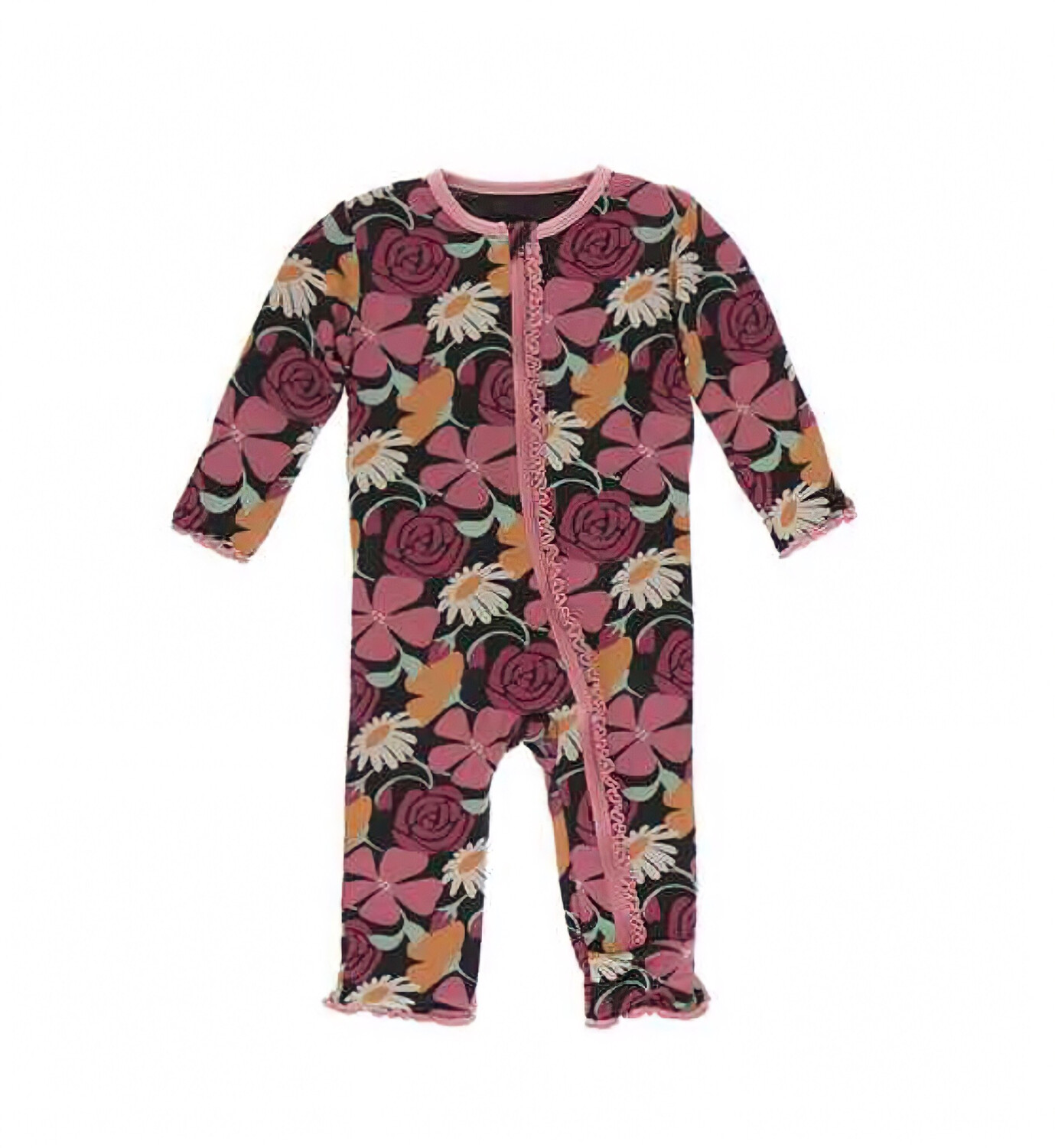 KicKee Pants Muffin Zippered Coverall 9-12M
