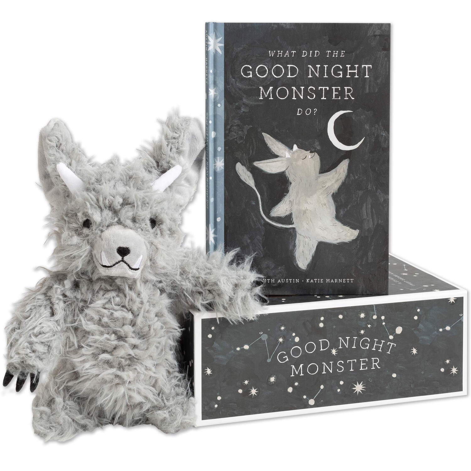 Goodnight Monster Story Book And Plush