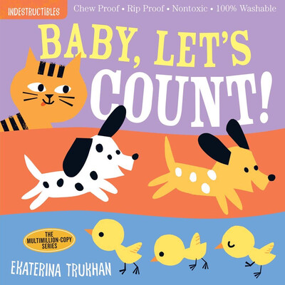 "Indestructibles ""Baby, Let's Count!"" Book"