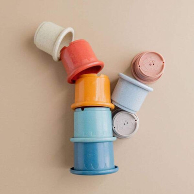 Three Hearts Stacking Cups