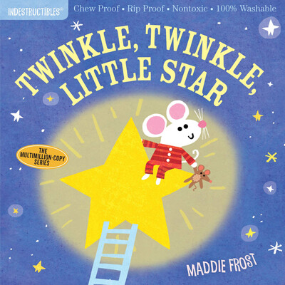"""Indestructibles """"Twinkle Twinkle Little Star"""" Book"""
