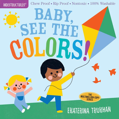 """Indestructibles """"Baby, See The Colors!"""" Book"""