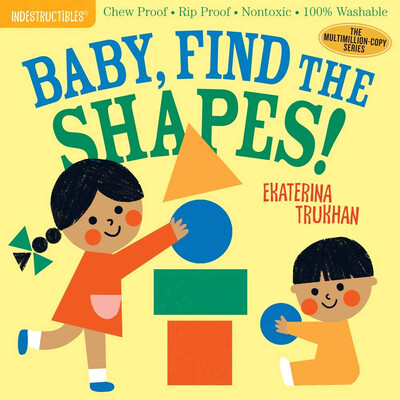"""Indestructibles """"Baby, Find The Shapes!"""" Book"""