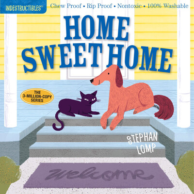 """Indestructibles """"Home Sweet Home"""" Book"""