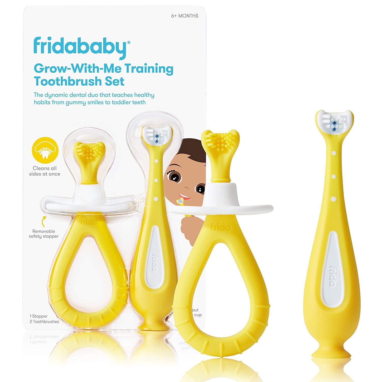 Fridababy Grow-With-Me Training Tooth Brush Set