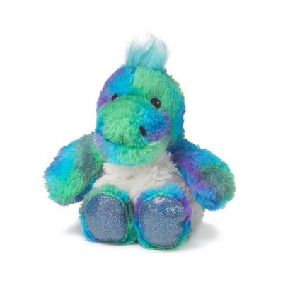 Warmies Rainbow Dinosaur Junior Stuffed Animal