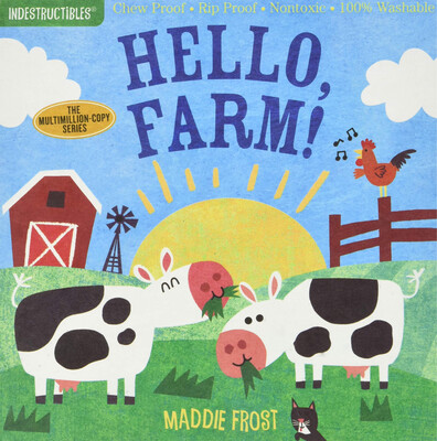 "Indestructibles ""Hello, Farm! Book"