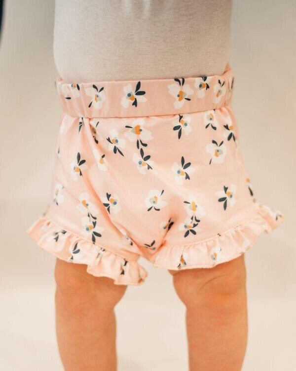 Bailey's Blossoms High Waist Bloomer 3-6M