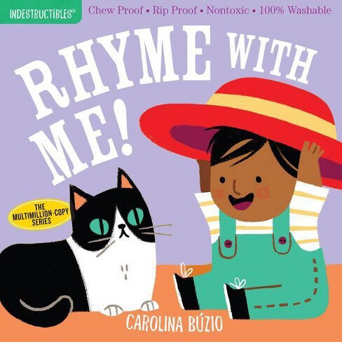 """Indestructibles """"Rhyme With Me"""" Book"""