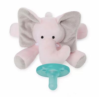 WubbaNub Pink Elephant Toy/Pacifier